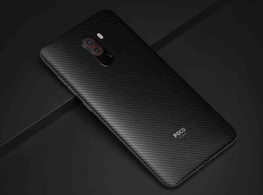 Pocophone F1 visto no GeekBench com o Android 9 Pie 2