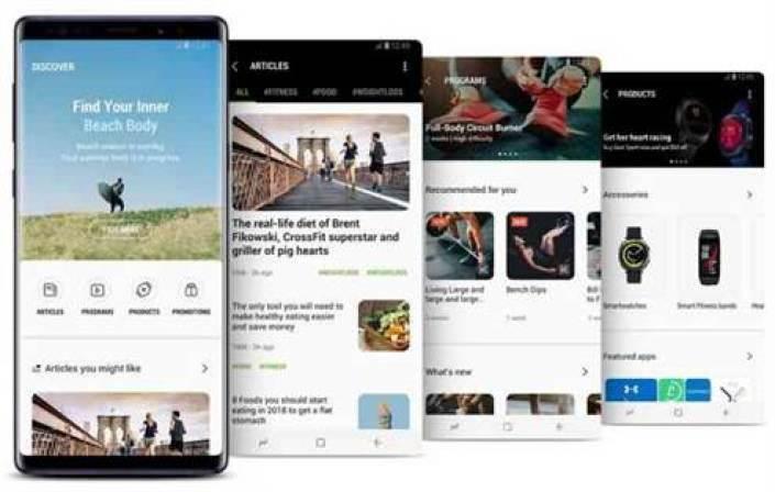 Samsung Health actualizado com novos recursos, interface do utilizador e melhor personalização 3