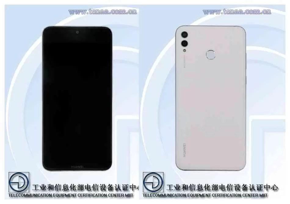 O próximo telefone Huawei ARS Android revelado na TENAA 1