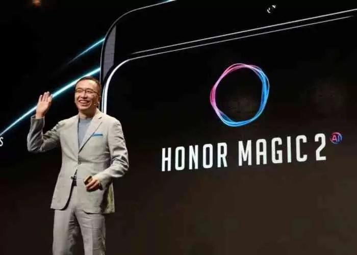Honor Magic 2 chega a 26 de outubro, com verdadeira ecrã gigante sem entalhe 1