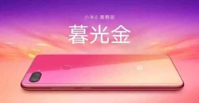 Xiaomi Mi 8 Youth: Este é o seu design definitivo 1