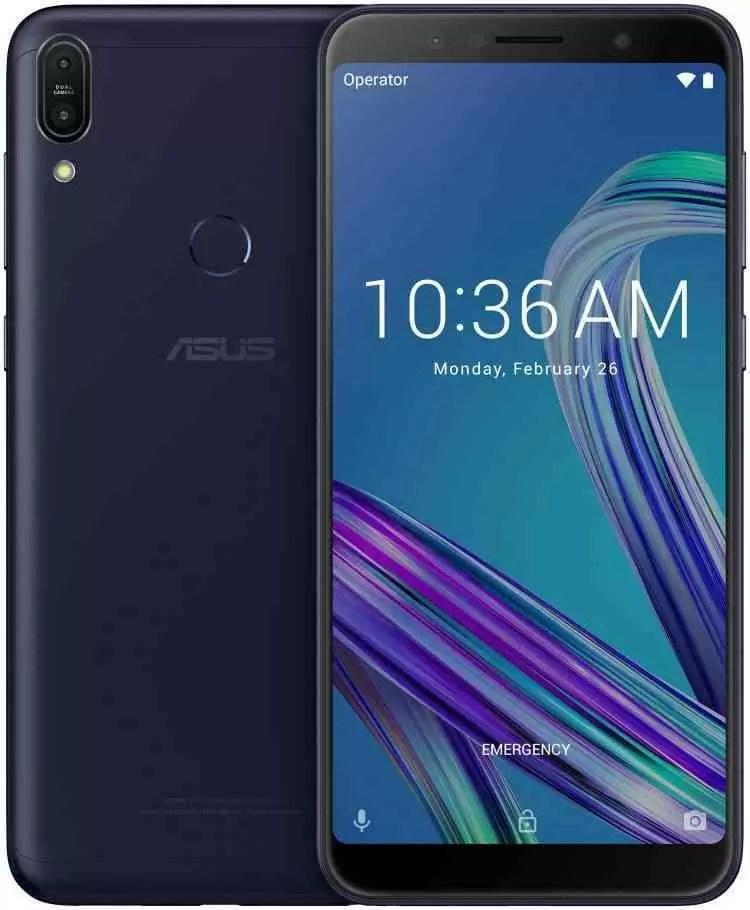 Asus Zenfone Max Pro M1 Deepsea Black 03
