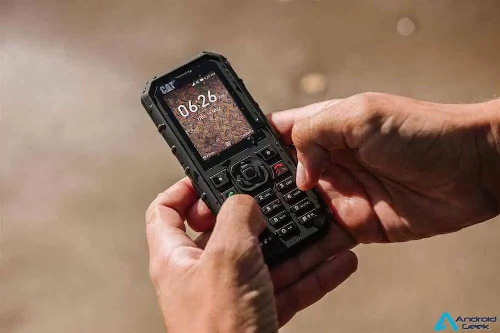 CAT - Fique ligado durante mais tempo com o novo Cat(R) B35 Smart 4G Feature Phone 1