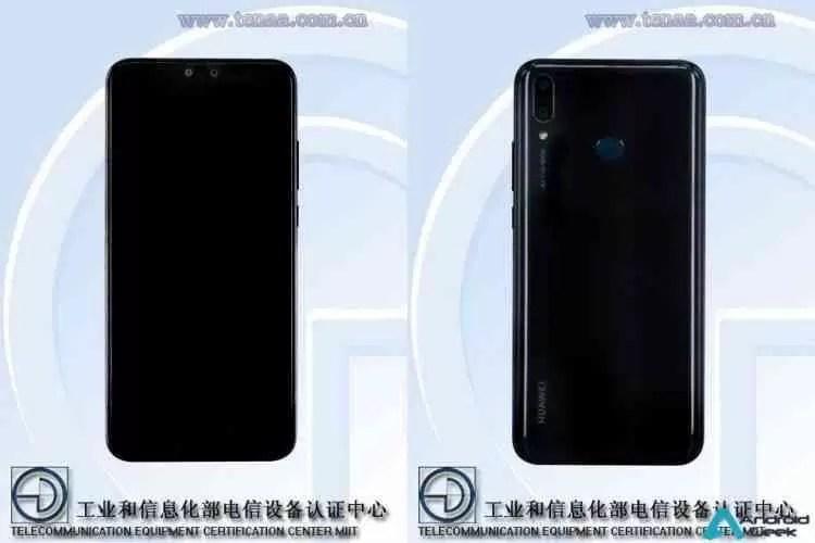 Huawei Y9 (2019) na TENAA revela uma variante Honor 8X mais poderosa 3
