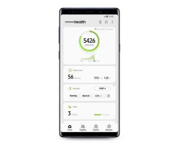 Este é o Samsung Health 6.0, a maior atualização do serviço de saúde da Samsung 2