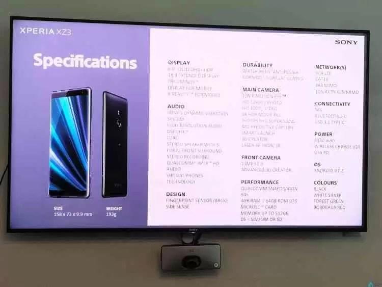 Sony Xperia XZ3 e Sony XA2 Plus apresentados em Portugal com preços que revelam uma mudança de direcção 3