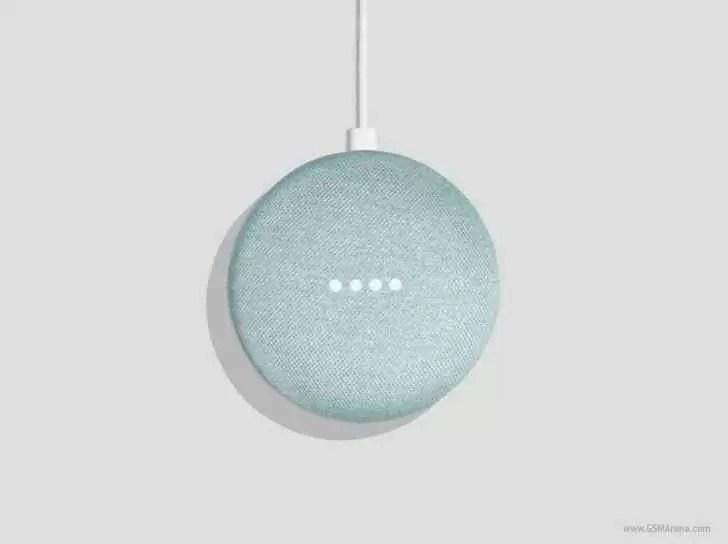 O Google Home Mini recebe uma nova versão Aqua 1