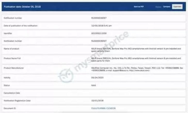 Asus Zenfone Max (M2) e Zenfone Max Pro (M2) são certificados com Android Oreo 2