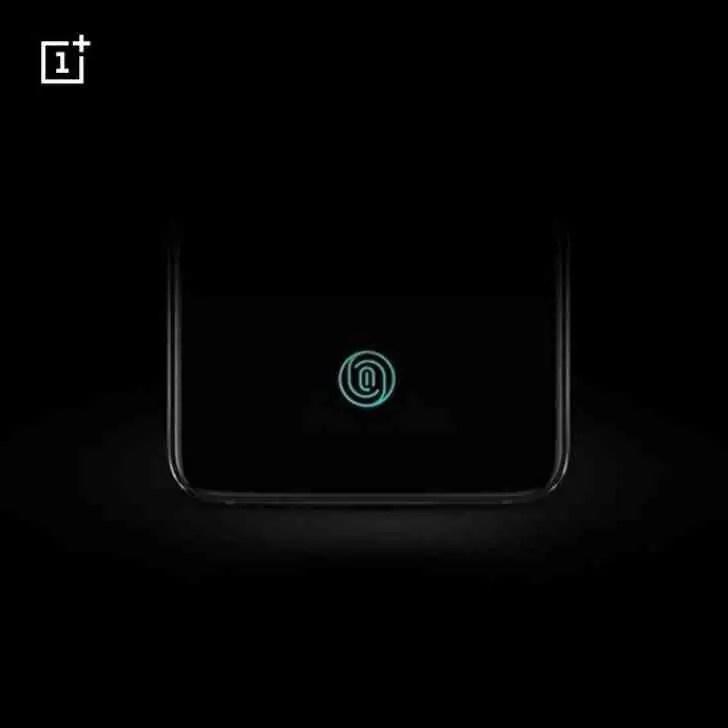 Leitor de impressões digitais no ecrã do OnePlus 6T será ótico, OnePlus confirma 1