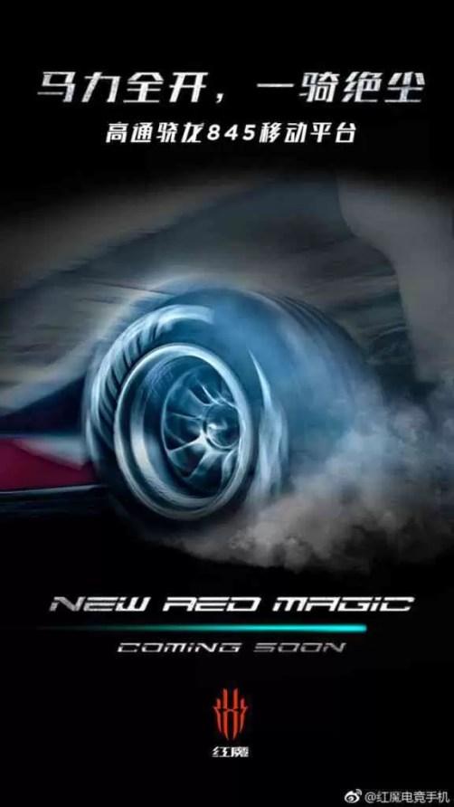 Nubia Red Magic 2 confirma som DTS 7.1, Snapdragon 845 e botões trigger 1