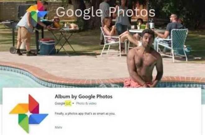Google Fotos na Loja Microsoft