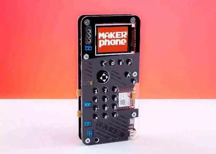 MakerPhone, construa seu próprio telefone por menos de 100 dólares