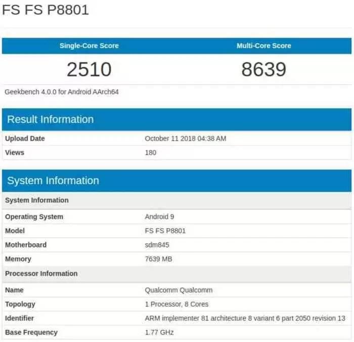 O OnePlus 6T mostra-se no Geekbench com os seus 8 GB de RAM 1