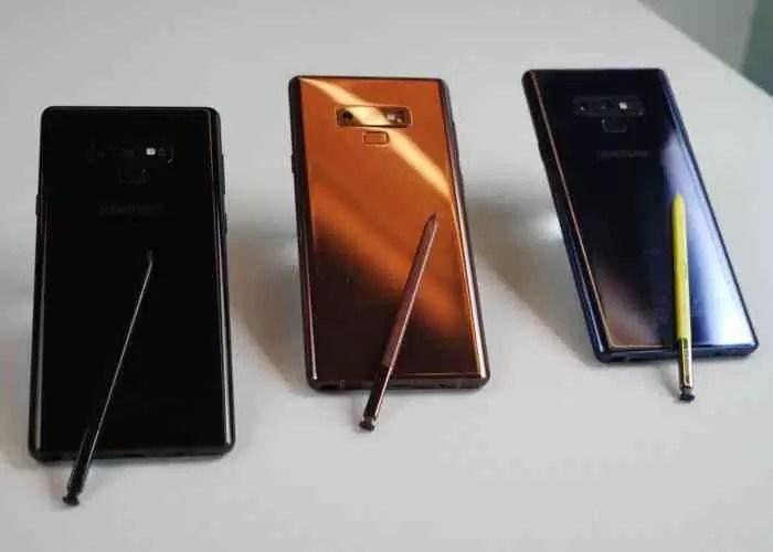 Samsung já vendeu um milhão de Galaxy Note 9 na Coreia, mas nem tudo são rosas 3