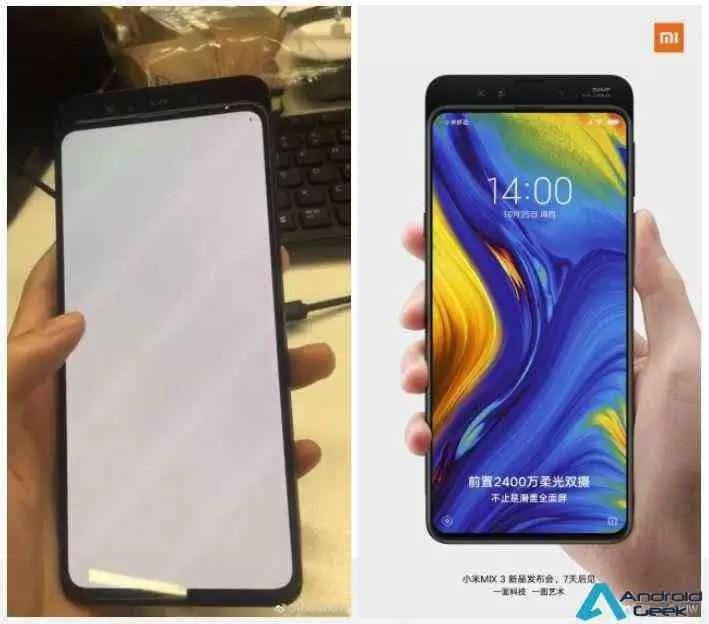 Xiaomi Mi Mix 3 filma a 960fps vídeos, outro teaser revela também face unlock 1