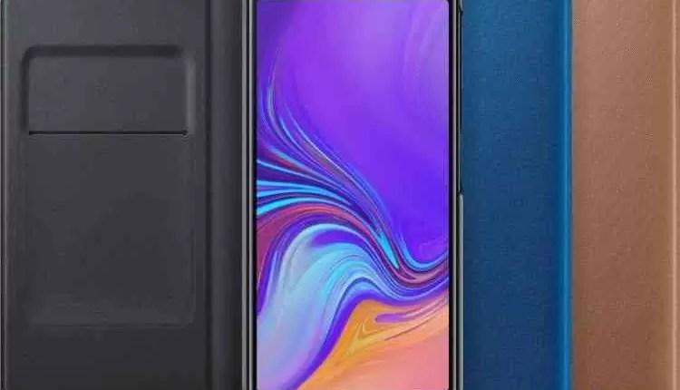Capas Samsung Galaxy J4 +, J6 + e A7 (2018) com acabamento gradiente em fuga de informação 9