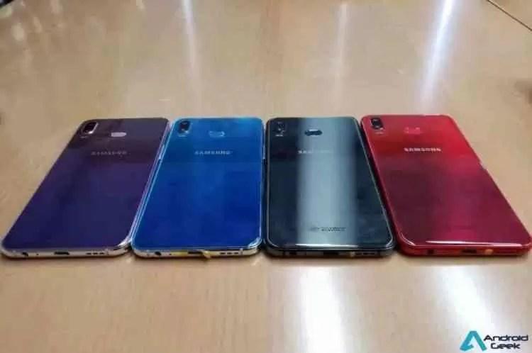 Reveladas fotos do Samsung Galaxy A6s revelando o seu design e variantes de cor 4