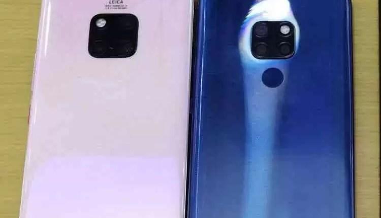 Huawei Mate 20, Mate 20 Pro e Mate 20 X são comparados em fuga de informação 3