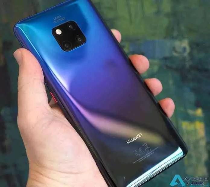 Huawei Mate 20 Pro. Análise preliminar e Primeiras impressões 1