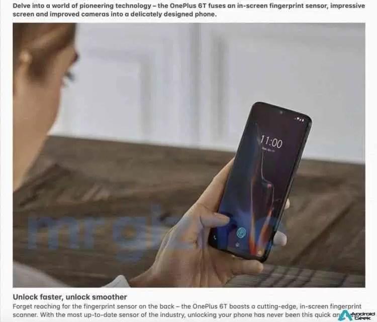 Especificações completas do OnePlus 6T com imagens promocionais foram reveladas! 5