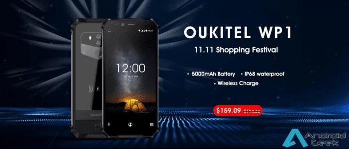 OUKITEL WP1 responde a novos desafios, agora a preço mais barato a 11,11 com código de cupão 1
