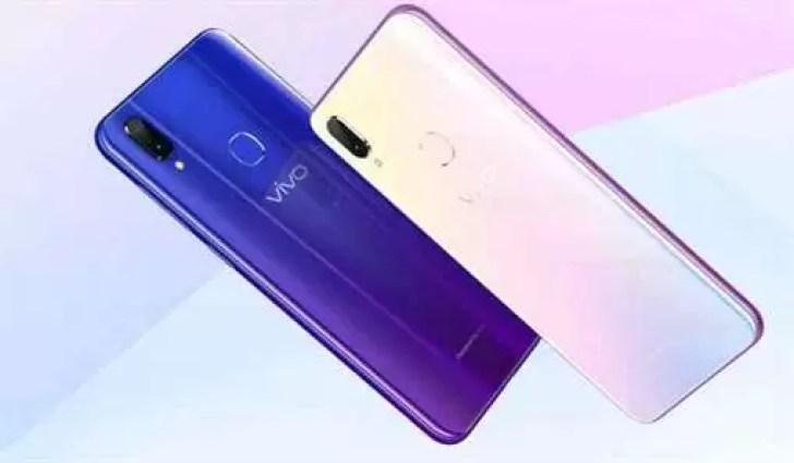 Variantes de cores do Vivo Z3i