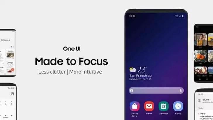 Samsung anuncia Infinity Flex Display, One UI e fala sobre o futuro do Bixby 3