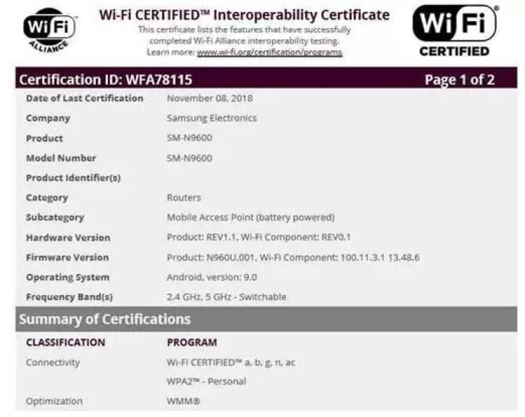 Certificação Android Pie