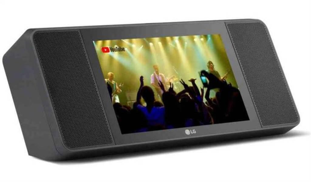 O LG XBOOM AI ThinQ WK9 é um ecrã inteligente com Assistente Google 2