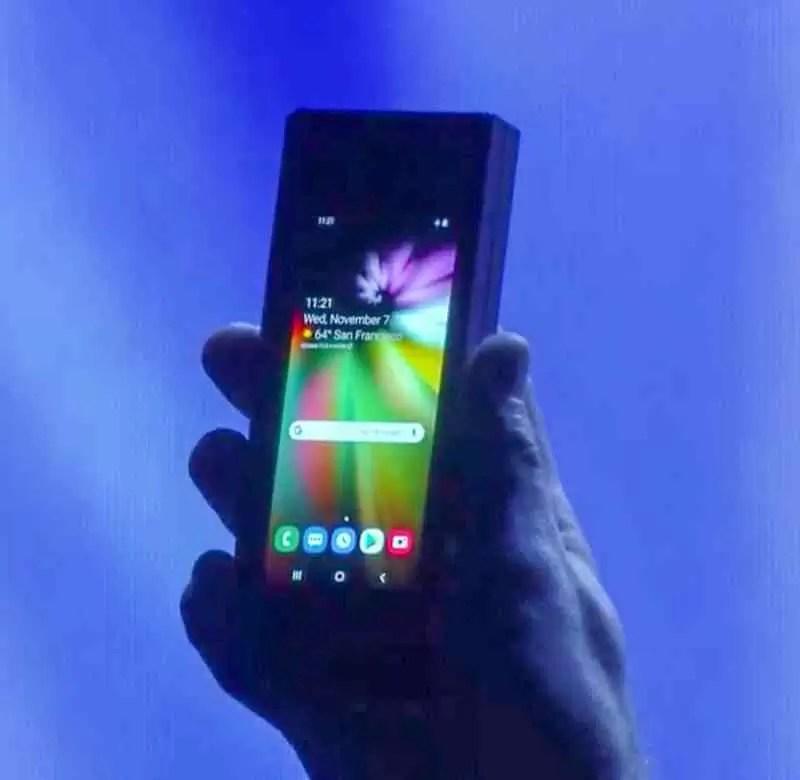 Já viram o dispositivo dobrável da Samsung? O futuro promete ser brilhante 1