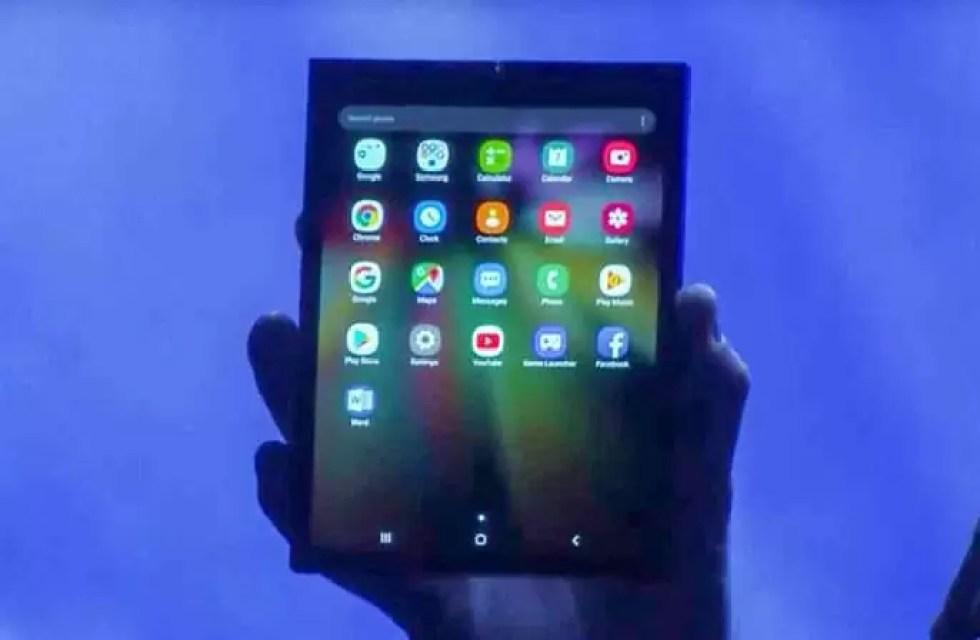 Dispositivo Dobrável Samsung