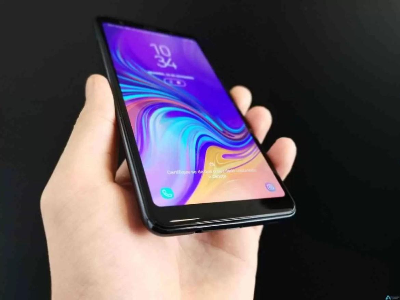 Análise Samsung Galaxy A7 (2018). A é de Amor 7