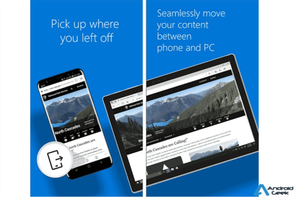 Atualização disponível para a versão Android do Microsoft Edge 1