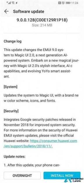 Honor Magic 2 é actualizado, substitui o EMUI 9.0 pelo Magic UI 2.0 2