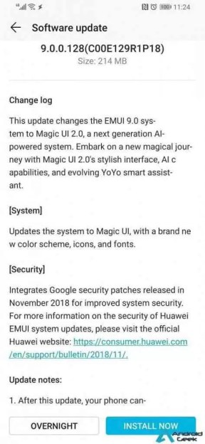 Honor Magic 2 é actualizado, substitui o EMUI 9.0 pelo Magic UI 2.0 2