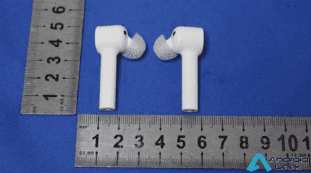Imagens da FCC revelam os fones de ouvido Mi True Wireless da Xiaomi 1