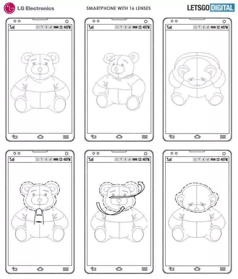 LG regista smartphone com 16 lentes de câmara 2