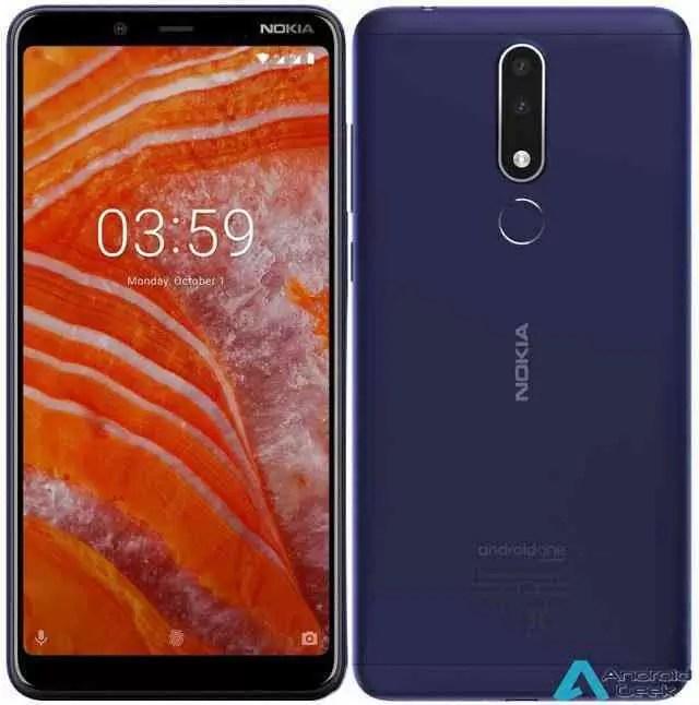 Nokia 3.1 Plus com bateria de 3500mAh lançado na China 1