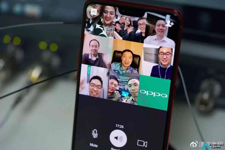 Oppo consegue video chamada WeChat, com um smartphone 5G 1