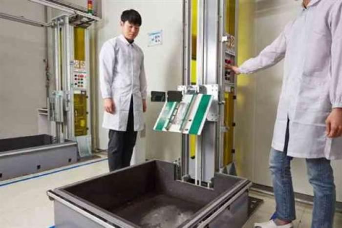Samsung publica fotos dos seus laboratórios: estes são os testes Galaxy 5