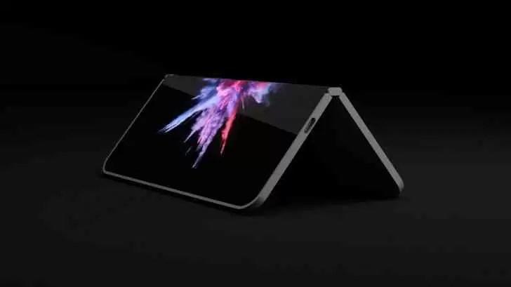 Smartphone Dobrável Microsoft Andromeda em 2019 1