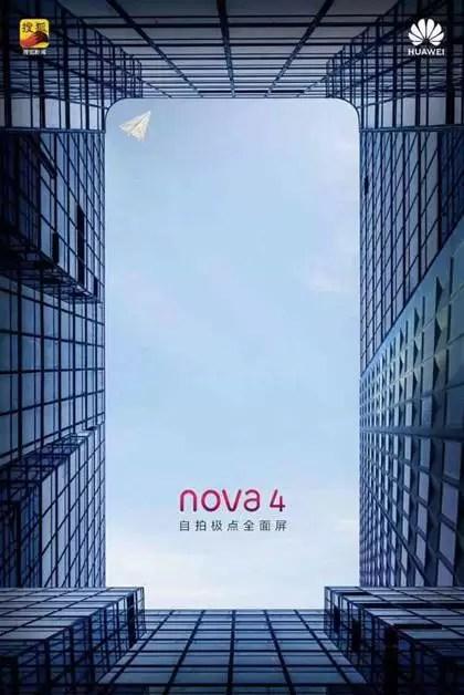 Huawei Nova 4 poster