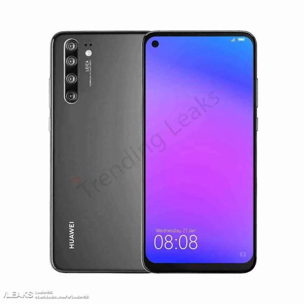 Leak Huawei: Huawei P30 Pro tem novas renderizações e especificações reveladas 1