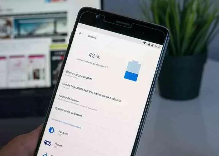 Bateria no Android