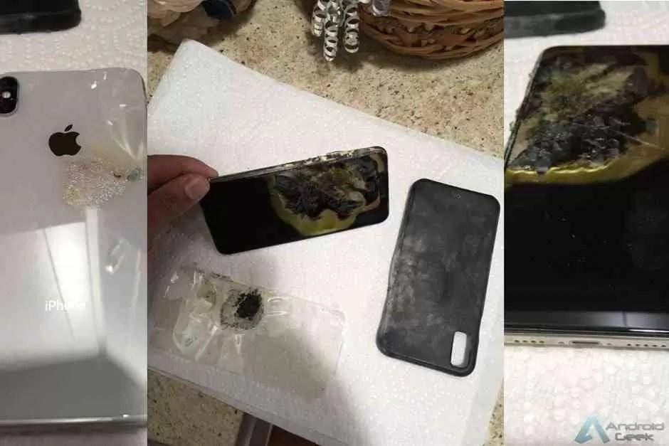 Primeira explosão de um iPhone XS Max, vítima entra com acção legal 1