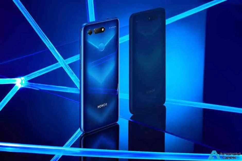 Honor View 20 oficialmente revelado como o primeiro smartphone do mundo a usar nanolitografia 2