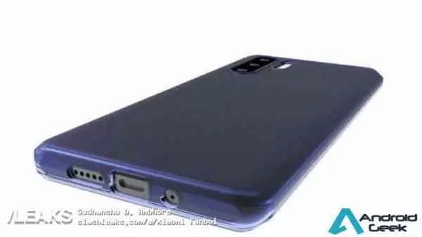 Capa protetora Huawei P30 / P30 Pro mostra design e revela segredos 3