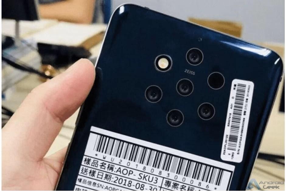 Nokia 9 PureView revelado em vídeo com 5 câmaras e sensor biométrico no ecrã 1