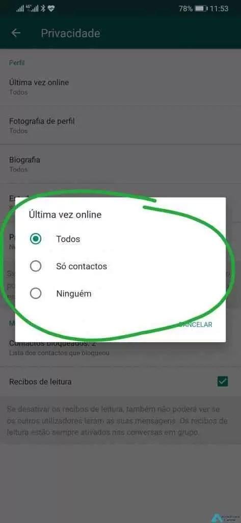 4 passos simples para tornar o WhatsApp mais seguro 4
