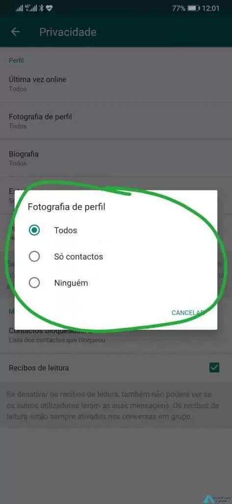 4 passos simples para tornar o WhatsApp mais seguro 6